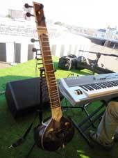 Этно-джаз: ситар и клавишные