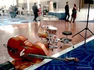 музыканты на фуршете