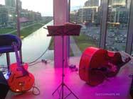 Контрабас и джазовая гитара