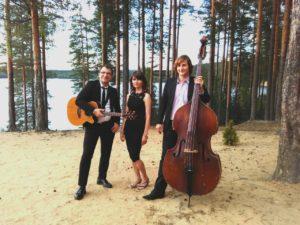 Трио Extra Light - музыканты из Санкт-Петербурга