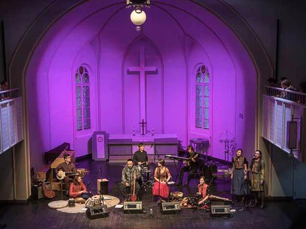 на концерте в Эстонской церкви
