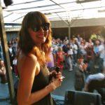 Julia on stage