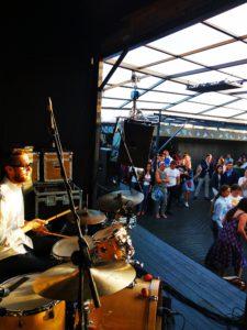 концерт на крыше